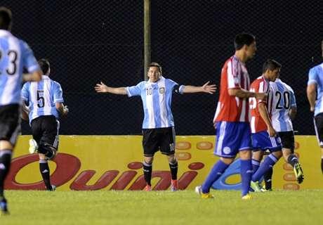 Las visitas de Argentina a Paraguay