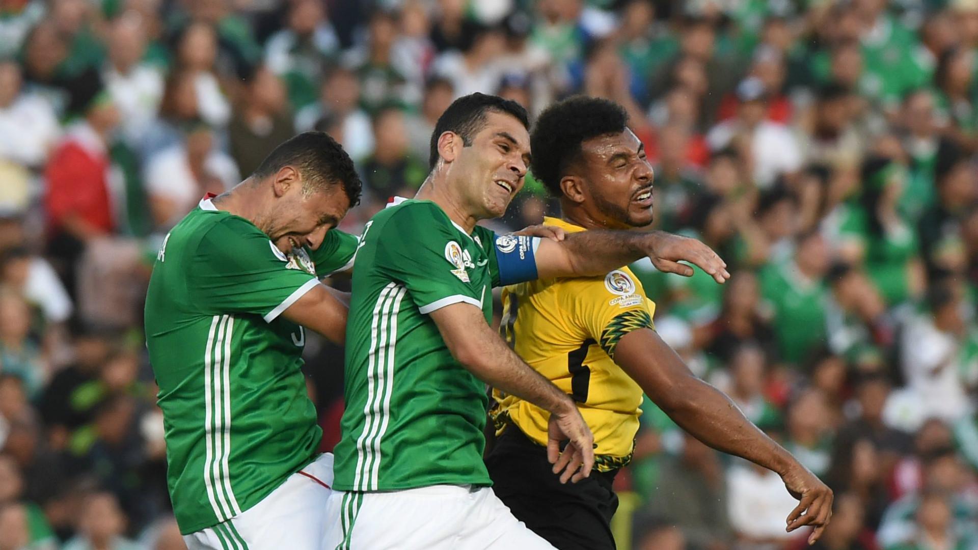 Rafael Marquez Yasser Corona Giles Barnes Mexico Jamaica Copa America 09062016