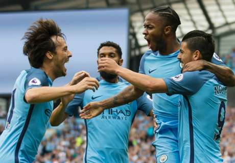 Silva shines as Pep's side roll on