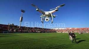 Un dron para espiar a los periodistas
