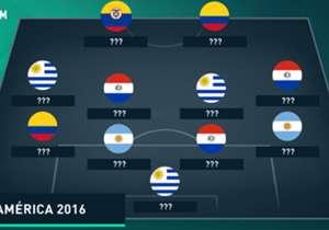 La liga argentina siempre aporta muchos jugadores a las selecciones, y la Copa América Centenario no es una excepción. Goal armó el XI ideal. ¿Qué te parece?