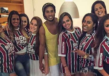 Dinho promete invadir el Maracaná