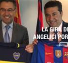 GALERÍA | La gira de Angelici en Europa