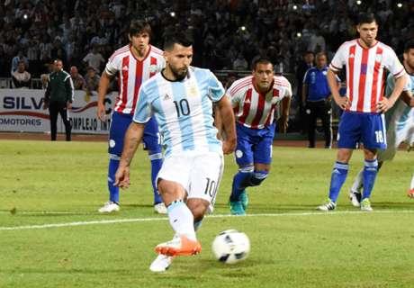 Aguero flops in Argentina reverse