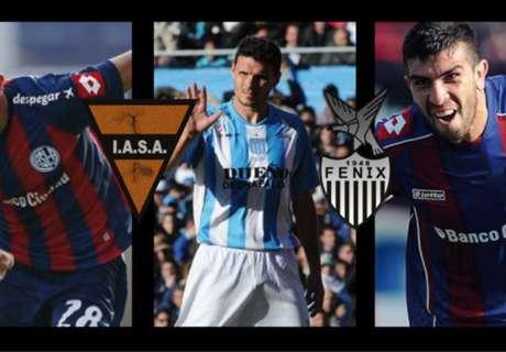 Tres futbolistas denunciados por la AFIP