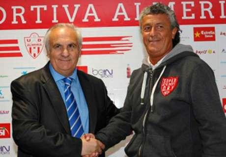 Gorosito, presentado en el Almería