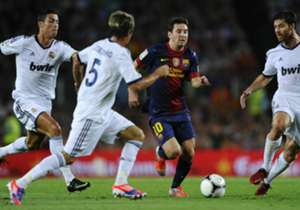 Messi jadi top skor sepanjang masa El Clasico.
