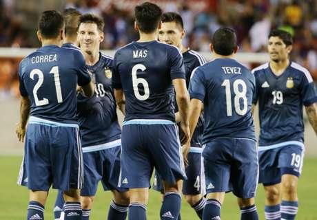 Lo mejor de la goleada de la Selección