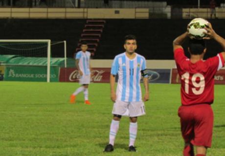 Argentina cayó ante Tahití