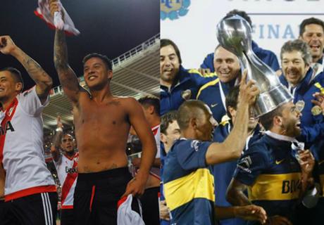 River y Boca: ¿qué equipo ganó más?