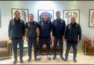 Campagnuolo, Militano, Bauza, Bauza Jr y Di Leo.