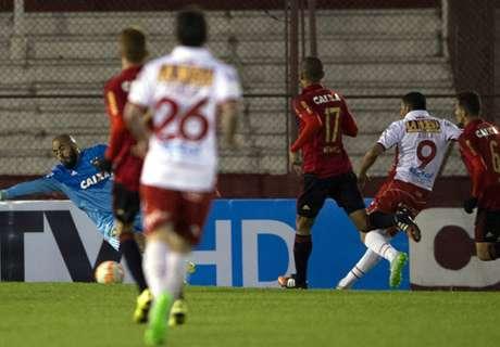 Huracán bailó a Sport Recife