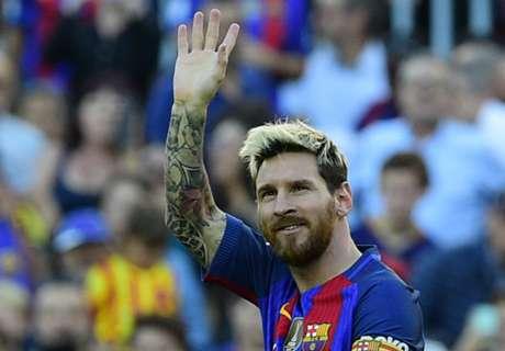 Lo que pasa cuando Messi marca
