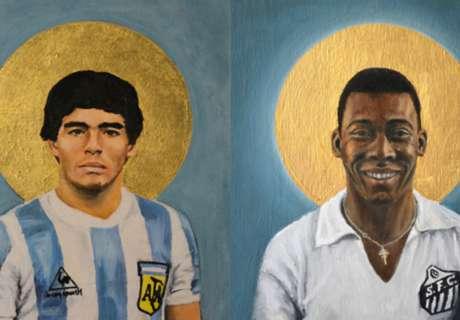 Maradona & Deretan Santo Sepakbola