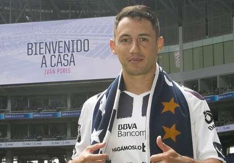 Monterrey presentó a Iván Piris