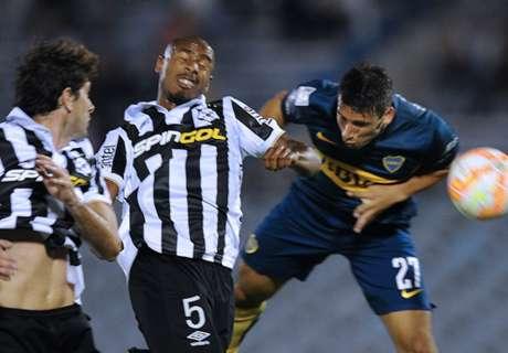 Libertadores: Wanderers 0-3 Boca