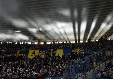 Verona-Spal, tifoso cade dalle tribune