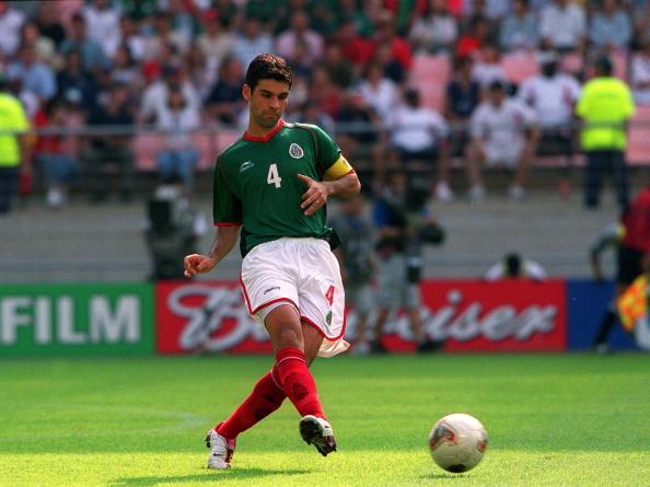 Rafael Márquez Álvarez México Estados Unidos Corea Japón 2002