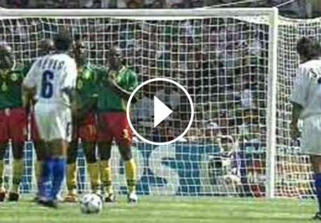 ► Coto supo festejar ante Camerún