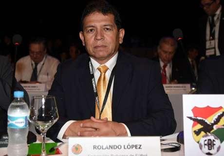 La selección de Bolivia vs. FBF