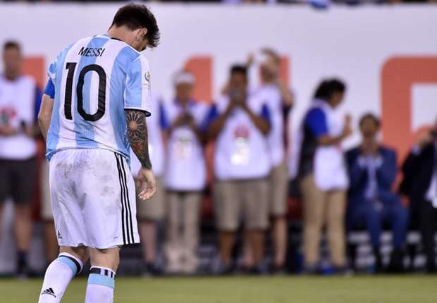 Messi legacy stained as he quits Argentina on a low
