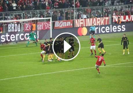 ► Tremendo golazo de Lewandowski