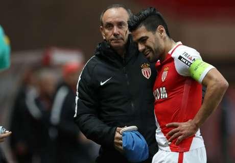 Monaco confirma lesión de Falcao