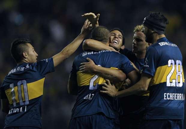 Los jugadores de Boca revivieron ante Vélez