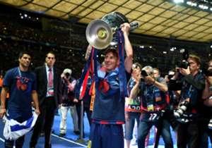 Messi kembali ke puncak Goal 50.