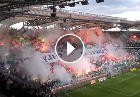 ► La fiesta de Legia Varsovia