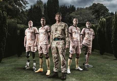 Millwall junto a ex-soldados