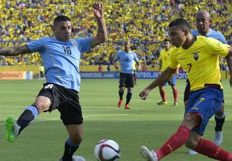 Eliminatorias: Ecuador 2-1 Uruguay