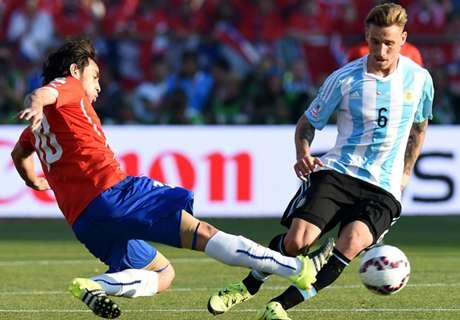 AO VIVO: Chile 0 x 0 Argentina