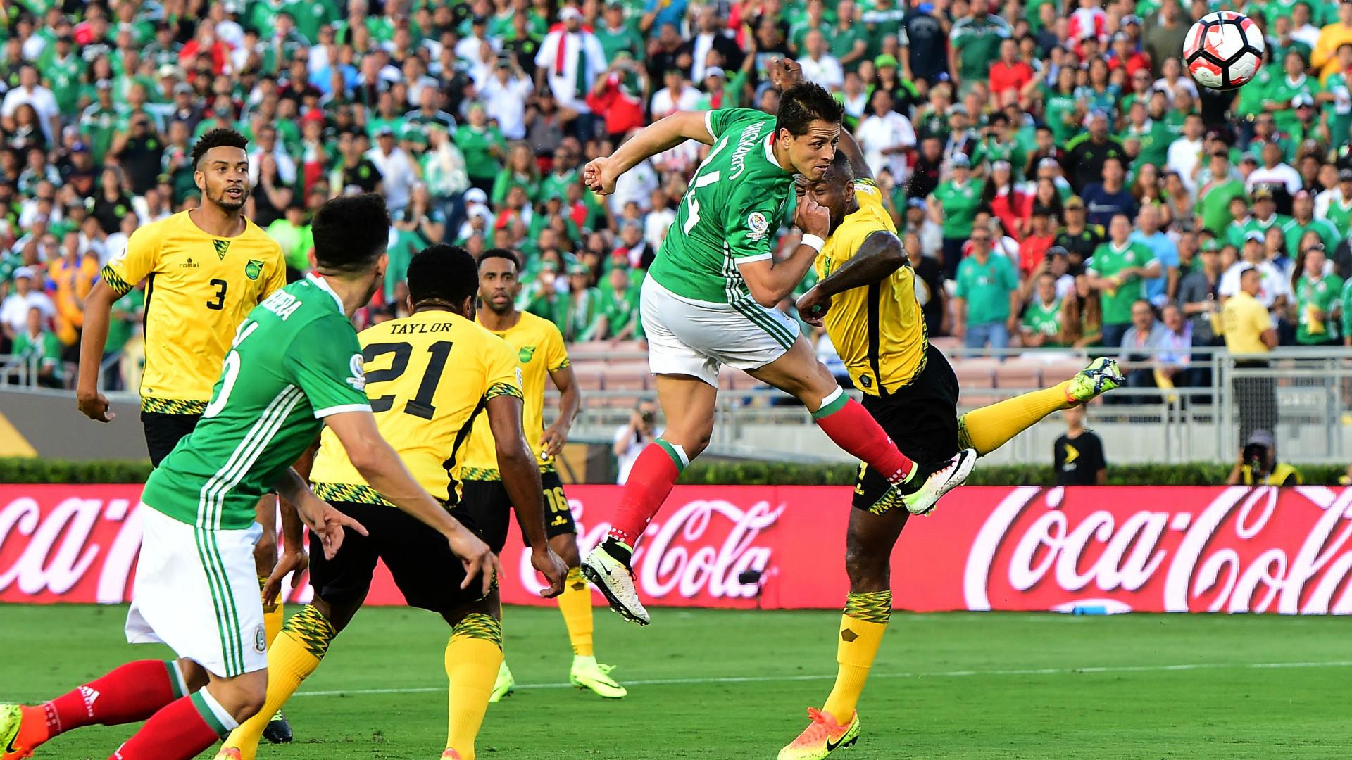 Javier Hernandez Goal Mexico Jamaica Copa America 09062015