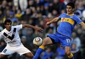 MATÍAS GIMÉNEZ | DEPORTIVO ARMENIO | El mediocampista, con pasado en Boca y San Lorenzo, jugará la próxima temporada en el club de la Primera B Metropolitana. En el Xeneize, se coronó campeón del Torneo Apertura 2011.