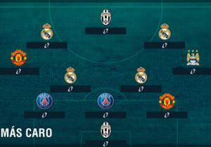 Tras la fortuna que Juventus pagó por Higuaín, un repaso por los jugadores que más costaron.