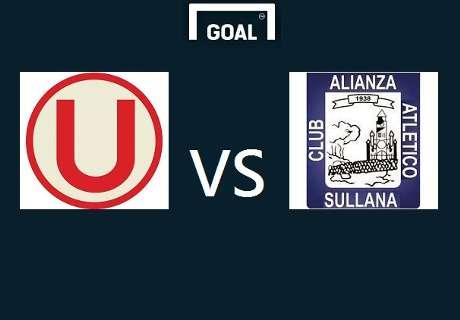 La 'U' goleó a Alianza Atlético