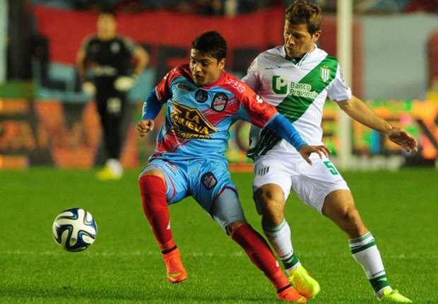 Con gol de Sebastián Palacios, Arsenal venció 1-0 a Banfield en Sarandí.
