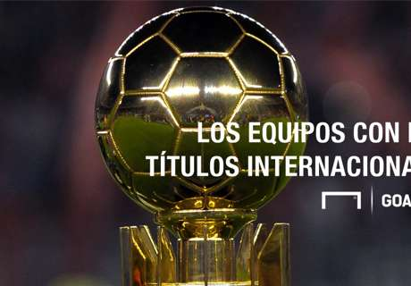 El ranking de títulos internacionales