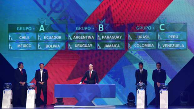 Argentina paired with Uruguay in Copa América draw as Brazil face Colombia