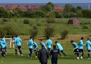 The Socceroos completed their first training session in Sunderland on Tuesday with captain Mile Jedinak given a rest due to the FA Cup final.