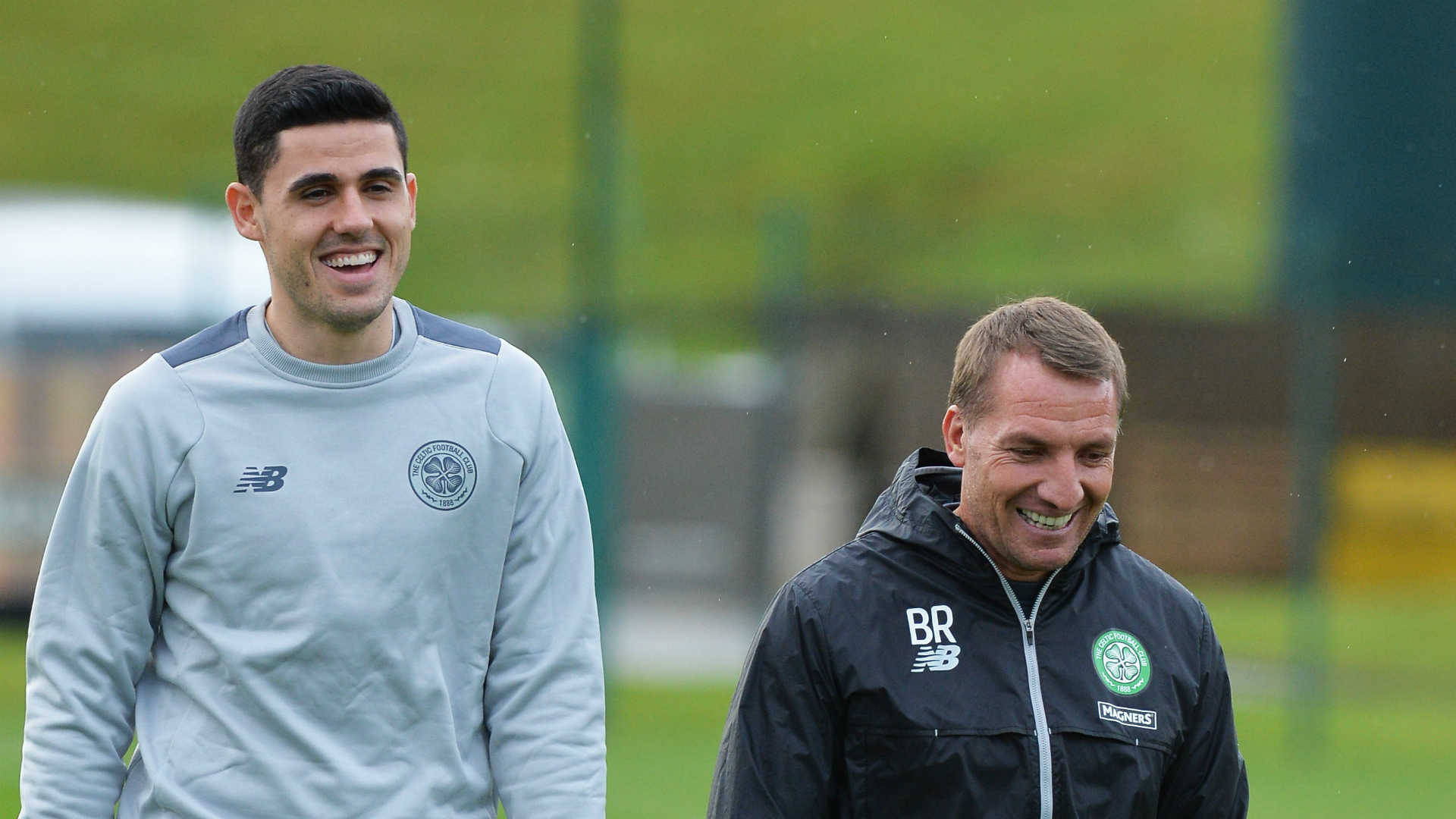 Tom Rogic Brendan Rodgers Celtic 18102016