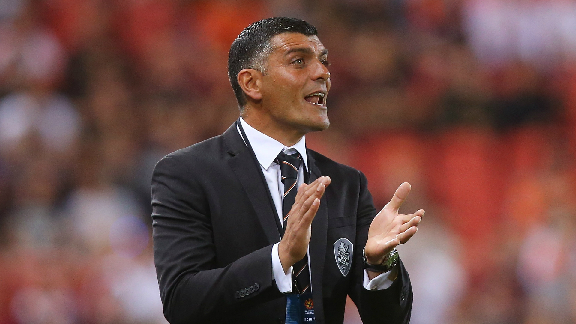 John Aloisi Brisbane Roar v Melbourne Victory A-League 07102106