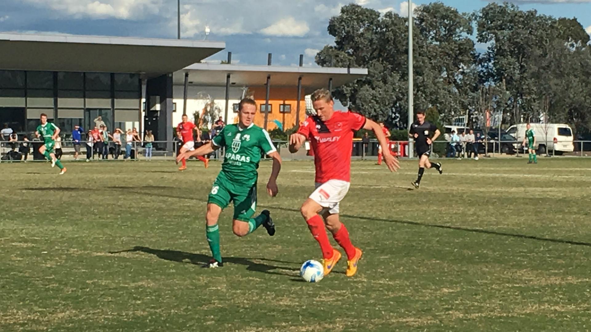 Daniel McBreen Bentleigh Greens v Edgeworth FC NPL Finals 17092016