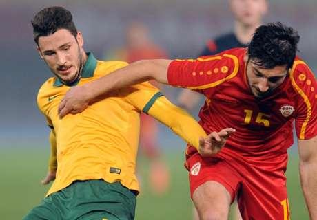 Socceroos held by FYR Macedonia