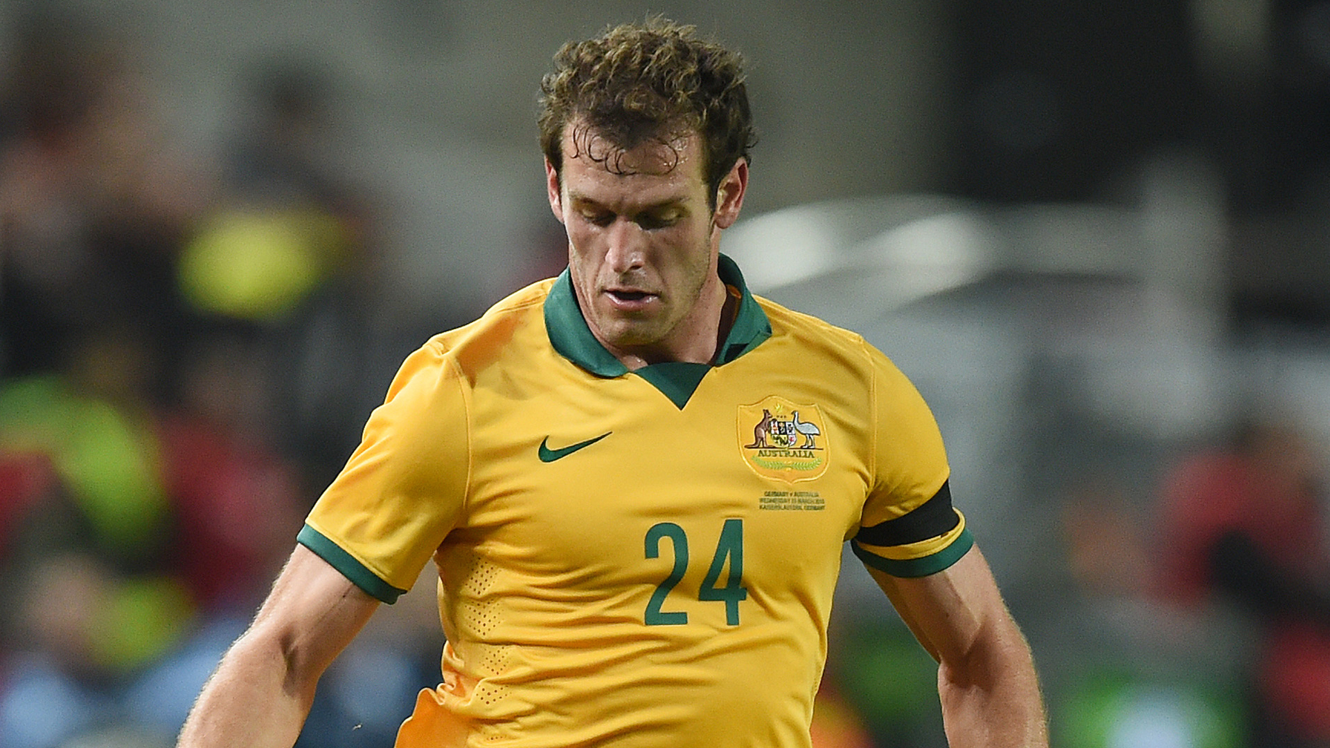 Luke DeVere Germany 2-2 Australia international friendly 250315
