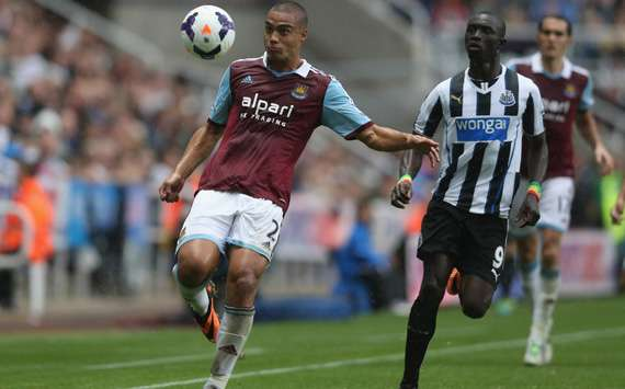 The Hammers' All White Winston Reid will tackle Newcastle on home soil