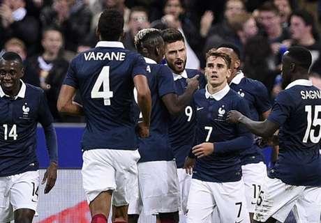 Prancis Mampu Gantikan Benzema & Valbuena
