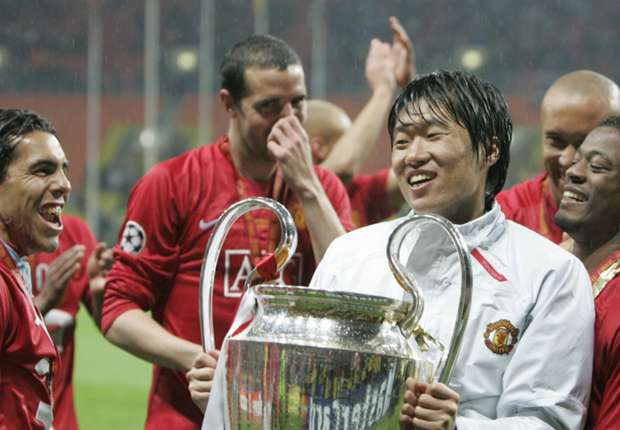Former Man Utd star Park Ji-Sung lines up for university team... and loses 7-1!