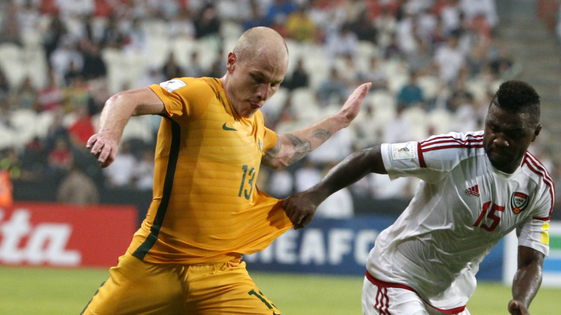 Aaron Mooy United Arab Emirates v Australia World Cup qualifying 06092016